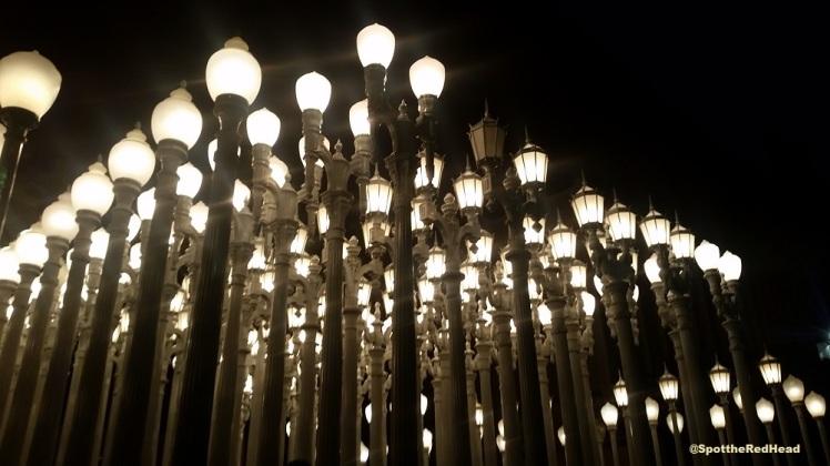 lacma lights, California, los angeles, instagram, art