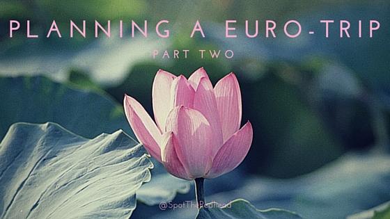 Planning a Euro-trip
